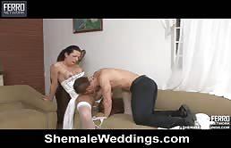 Sesso hardcore dopo il matrimonio